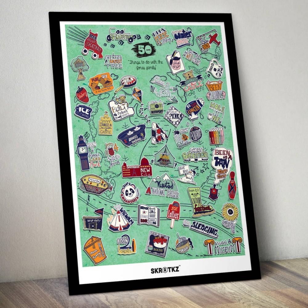 Постер 51 семейни занимания
