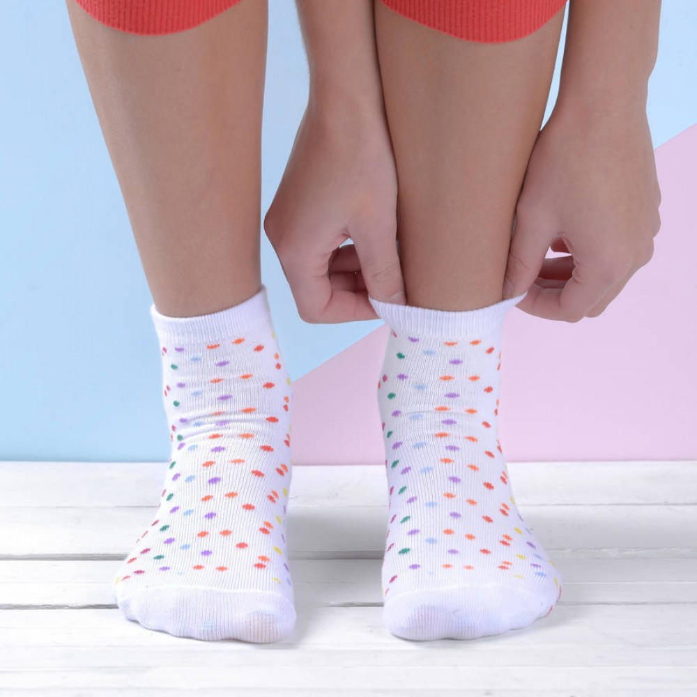 Сладоледени чорапи - Сметана с бонбони