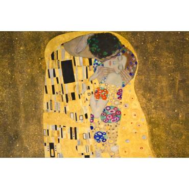 Голям Калейдоскоп Целувката - Густав Климт