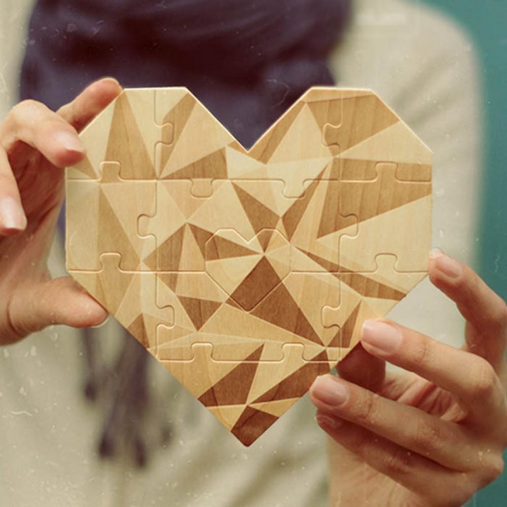 Пъзел-сърце