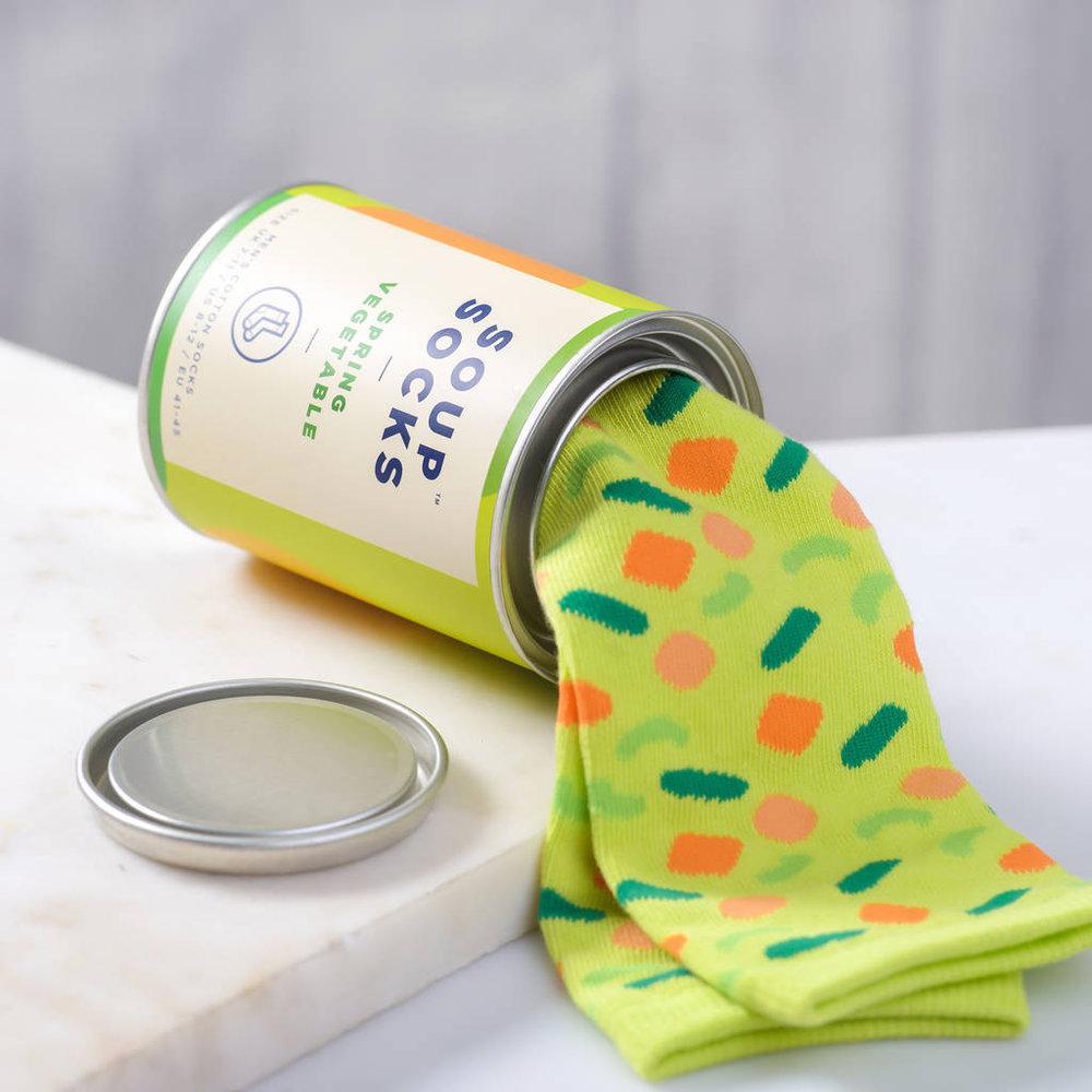 Супени чорапи - Пролетна зеленчукова