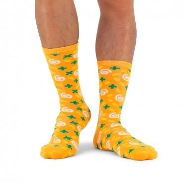Супени чорапи - Морков и Кориандър