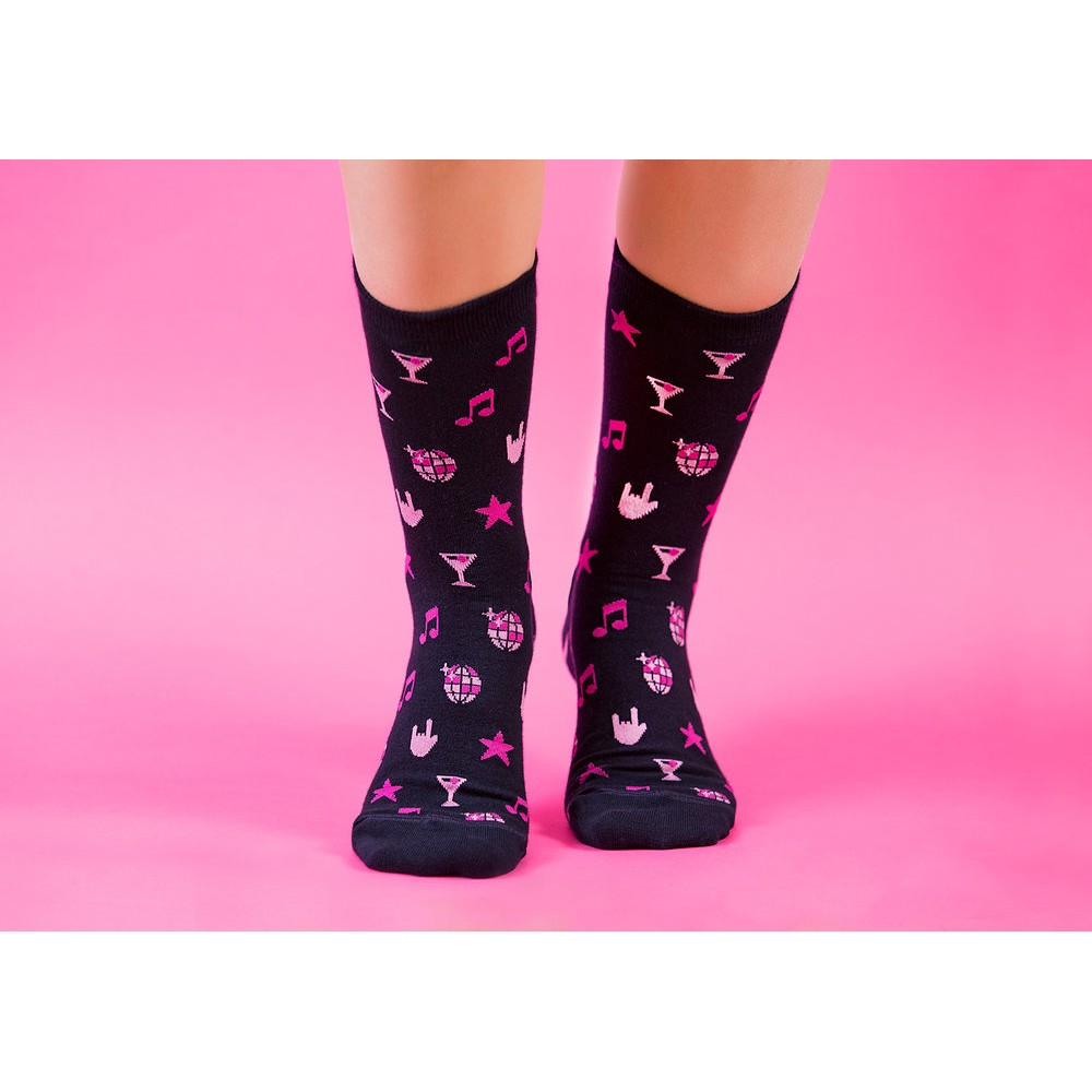 Free Range Socks - Party like a star