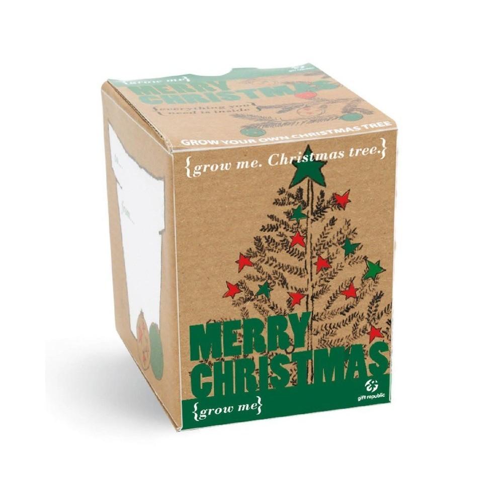 Коледна елха в кутийка
