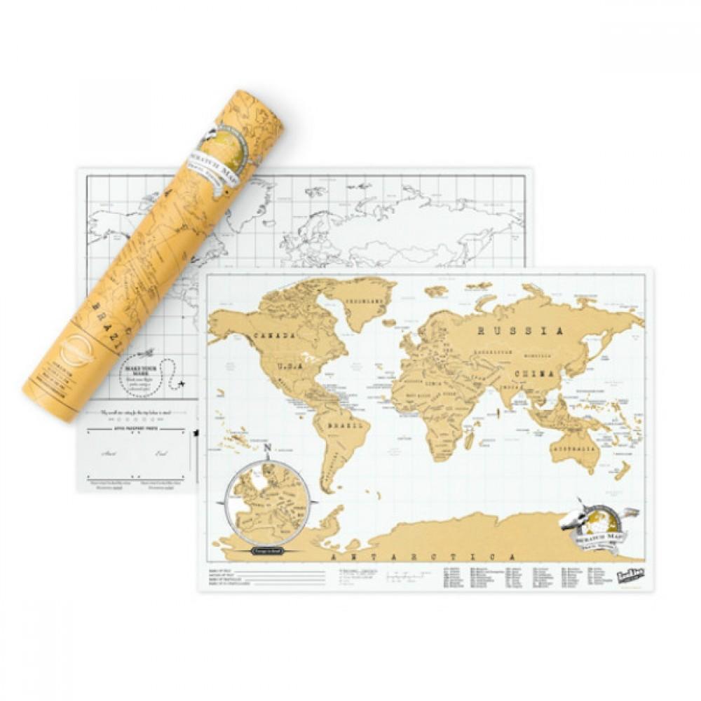 Скреч карта Мини